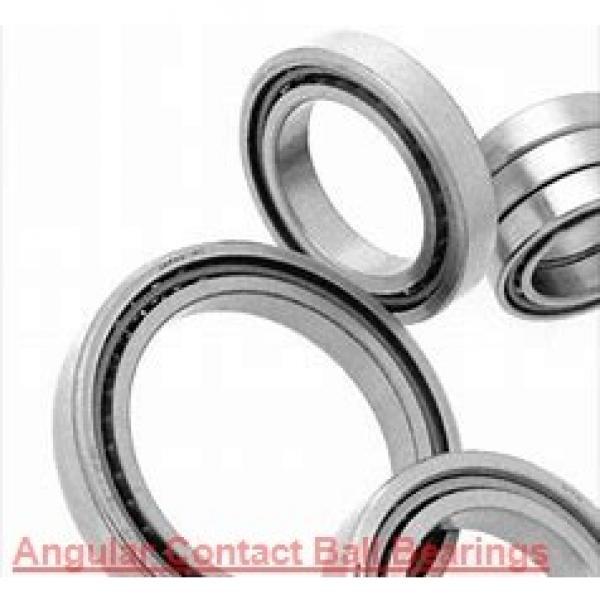 55 mm x 100 mm x 21 mm  FAG QJ211-TVP  Angular Contact Ball Bearings #1 image